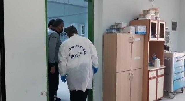 Hastanede oksijen tüpü patladı: 1 yaralı