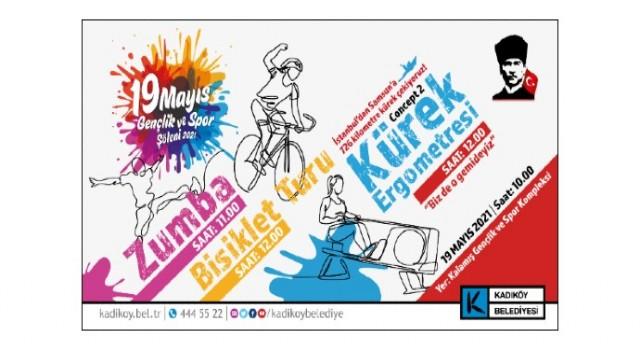 Kadıköy 19 mayıs kutlamalarına hazır