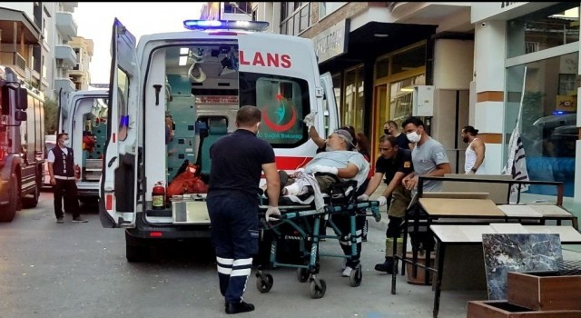 İzmir'de evde torpil patlaması: parmakları koptu