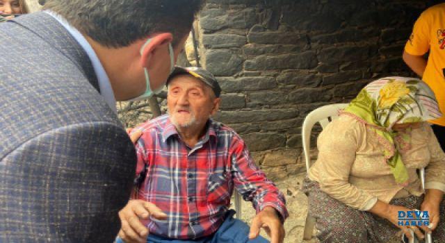 Ali Babacan afet bölgesinde: 'Yangına tedbirsiz yakalanmak affedilemez
