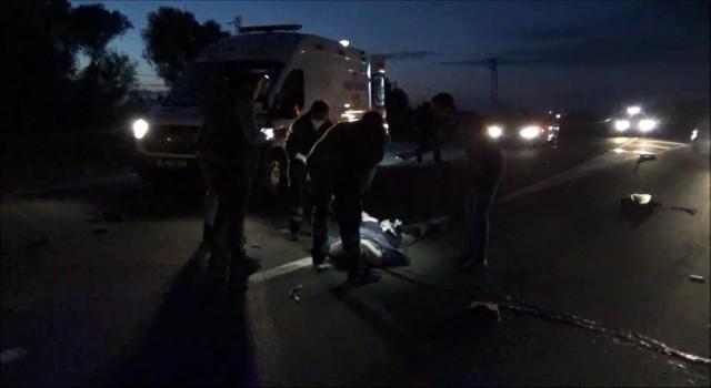 Otomobil ile elektrikli bisiklet çarpıştı: 1 ölü