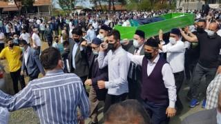 Bayram sabahı vurulan imam toprağa verildi