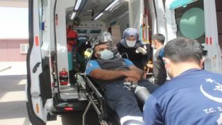 Fabrika işçileri metan gazından zehirlendi
