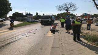 Edirne'de otomobil ile motosiklet çarpıştı: 2 yaralı