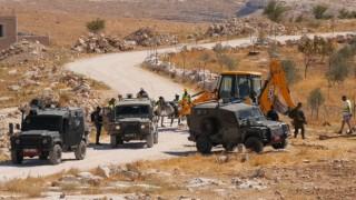 İsrail güçleri, Filistinlerin kullandığı su şebekesini yıktı