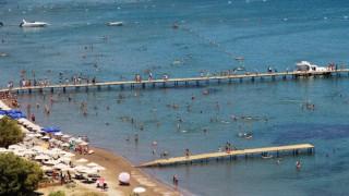 Karadan, denizden ve havadan Bodrum'a turist yağdı