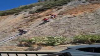 Milli dağcı antrenman için çıktığı dağda mahsur kaldı