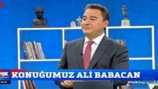Ali Babacan: 'Seçimi açık farkla kazanmak gerekiyor'